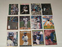 12 Card LOT Ken GRIFFEY Jr. Mariners 1990s Inserts Promos Parallels Etc ... A-05
