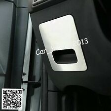 Car Stainless Main Driving storage box Sequins trim For 2016-2017 Kia Sportage