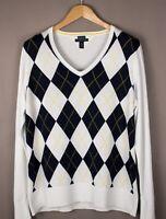 Tommy Hilfiger Herren Pima Baumwolle Strick Pullover Größe 2XL (XXL) ATZ666