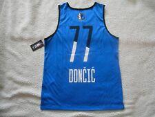 Authentic NBA #77 Luka Doncic Dallas Mavericks Jersey Tank Top Men Large TAG NEW