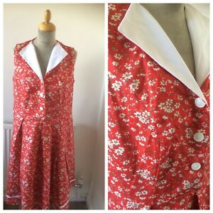 1950's Style Floral Dress Size 18  By Joe Browns