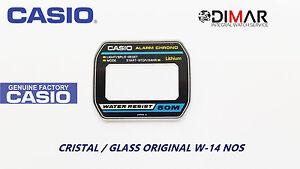 Vintage Glas Casio W-14 NOS