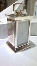 pendulette de bureau moderne couleur argent pendule montre