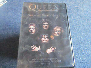 DVD QUEEN GREATEST VIDEO HITS 1 DVD COLLECTION 2 DISCS  GREAT  *** MUST SEE ****