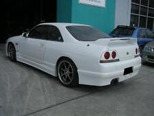 teamJetspeed Fiberglass 94 on R33 GTS-T Series 2 Explosive Style Side Skirt NEW