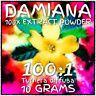 Damiana (Turnera diffusa) | 100x Extract Powder [10 Grams]