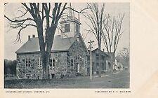 CHESTER VT – Universalist Church - udb (pre 1908)