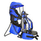 ClevrPlus CC Hiking Child Carrier Baby Backpack Camping for Toddler Kid, Blue