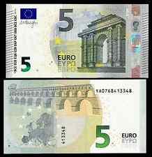 GREECE 5 EUROS 2013  DRAGHI - Y PREFFIX (A SERIE) printer Y001J3 or Y001D2 UNC