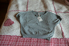 pull NEUF REPETTO gris  brillant noeud 6 ANS 74 EUROS le dernier
