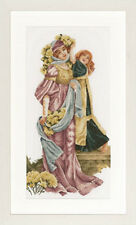 Victorian Ladies - Lanarte Cross Stitch Kit w/30 Ct Linen New