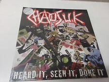 Chaos Uk-Hear it seen it done it Ltd.Clear Vinyl LP NEU OVP