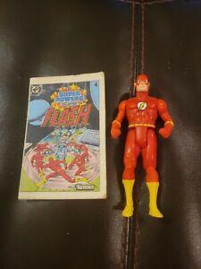 Flash 100% Complete Super Powers 1984 Kenner Vintage Action Figure DC Comics