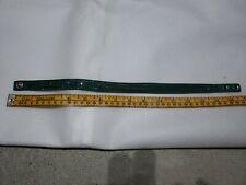 SWAROVSKI Crystal Suede Leather Adjustable WrapBracelet in Green