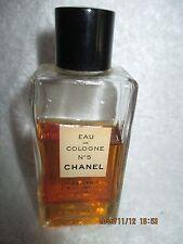 VINTAGE CHANEL No 5 EAU DE COLOGNE Fragrance Approximately 2/3 full BOTTLE