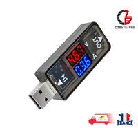Mini Numérique Voltmètre Ampèremètre USB testeur 5 V 12 V Testeur pour Portable