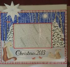 NEW 2013 EXPOSURES Picture FRAME Horizontal Hand Painted Christmas LAST ONE
