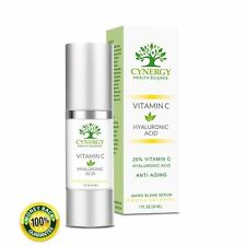 Vitamin C Serum Hyaluronic Acid - Anti Aging Natural Organic Anti-Wrinkle Cream