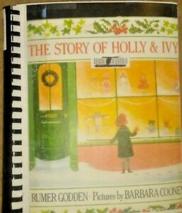 The Story of Holly & Ivy by Rumer Godden - in Braille for the Blind Children