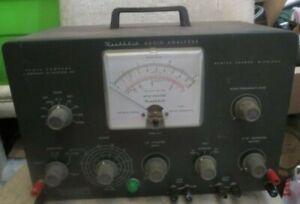 Vintage Heathkit Aaudio Analyzer Diagnostic Tester Model AA-1 Powers on