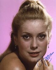 AUTOGRAPHE SUR PHOTO 20 x 25 de Catherine DENEUVE signed in person+ Photo Proof