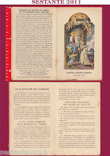 140 SANTINO HOLY CARD MATER ET DECOR CARMELI
