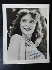 "Janet Leigh Autographed 4"" X 5"" Photograph from Estate"