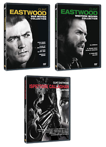 Clint Eastwood Collection (Western+Ispettore Callaghan+War Movies) 12 film  DVD
