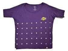 '47 Brand NBA Womens Los Angeles Lakers Loose Fit Shirt NWT $45 M, L