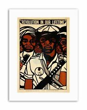 CIVIL RIGHTS BLACK PANTHER PARTY AFRICAN Poster Political Canvas art Prints