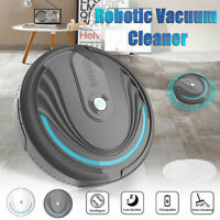 UK Smart Robot Vacuum Cleaner Automatic Sweeper Floor Carpet Clean Rechargeable