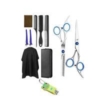 10pcs Kit di Forbici per Capelli Parrucchiere per Uomo e Donna Professionali