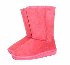ALING-8K New Blink Cute Kids/Toddlers/Youth Mid-Calf Flats Winter Boots Coral 1
