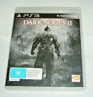 Mint Disc Playstation 3 Ps3 Dark Souls II 2 Free Postage