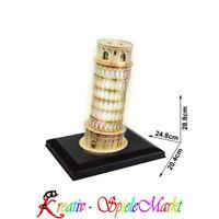 Cubic Fun - 3D Puzzle Der Schiefe Turm von Pisa Italien mit LED Beleuchtung