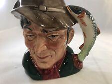 1954 Vtg Royal Doulton The Poacher D 6464 Toby Character Mug Cup England