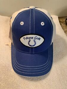 Indianapolis Colt Child Future Colt Cap Official NFL APPAREL Hologram New