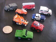 Miniature Race Track Car Emergency Vehicles Firetruck Swat Police lot Micro