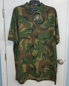 POLO Ralph Lauren Mens Camo Polo Shirt Size 2XLT $125