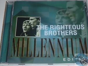 RIGHTEOUS BROTHERS ( CD ) BEST OF MILLENNIUM EDITION