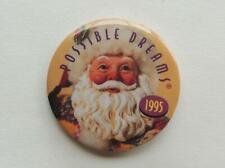 1995 Santa Claus Clothique Possible Dreams Pinback Button