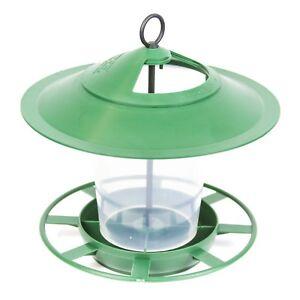 Outdoor Hanging Lantern Bird Feeder Station for Seeds & Nuts