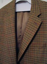Samuelsohn 100%  Wool Sport Coat Blazer Jacket Greenwich Size 44 Regular Oxford