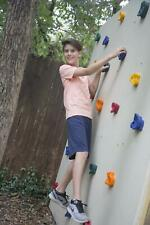 """22 Jungle Gym Kingdom Kids Large Rock Wall Climbing Holds Includes 2"""" Mounting."""