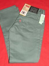 NEW Boy's Levis 511 Slim Fit Green Jeans Size 12 Regular 26x26