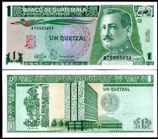 GUATEMALA 1 QUETZAL 1990 P 73 UNC