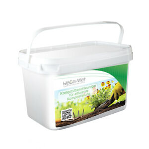 Kompostbeschleuniger Rapide Kompostierung Compost Komposthilfe 3kg