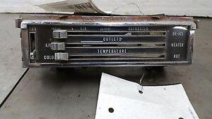 Chevy Blazer Heater Control w/AC GMC Jimmy OEM 70 71 72 1222890