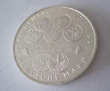 10 Deutsche Mark Stgl. einwandfrei 50 Jahre Deutsche Mark1998 F Sammlermünze