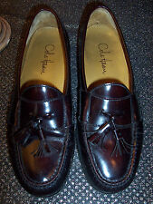 COLE HAAN  CORDOVAN LEATHER MOCCASIN SIZE 9D IN EXCELLENT CONDITION